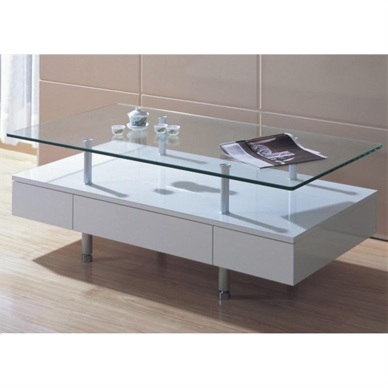 Nova Coffee Table in White