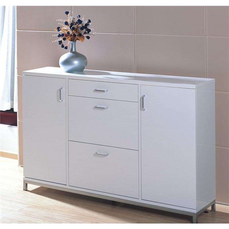 Grace Shoe Cabinet in white