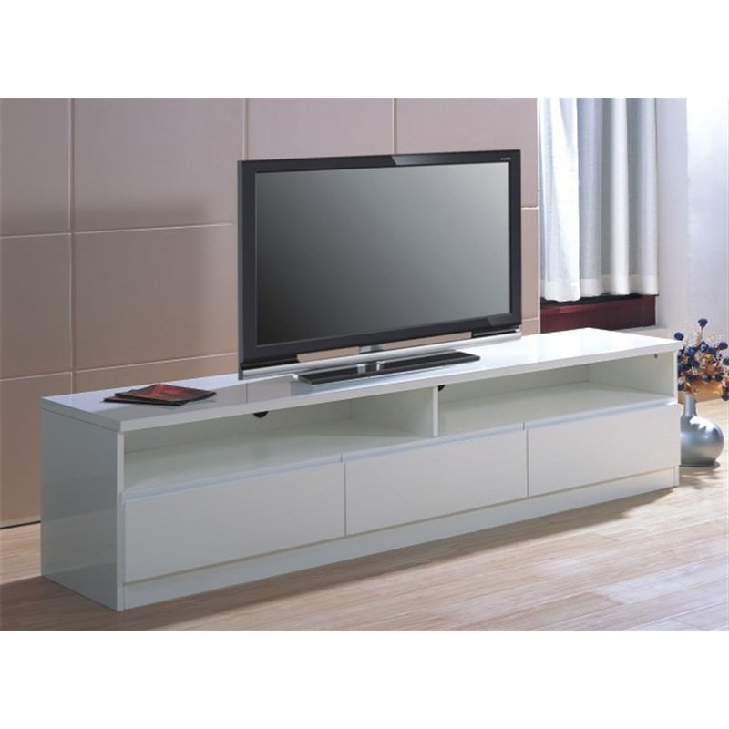 Sunset TV Unit in White