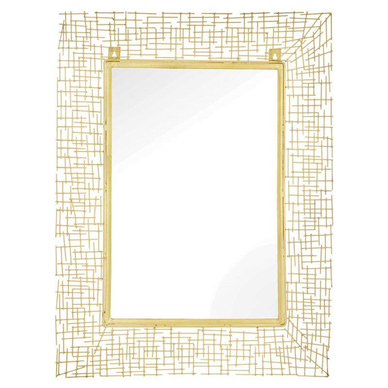 Society Metal Frame Wall Mirror, 80cm