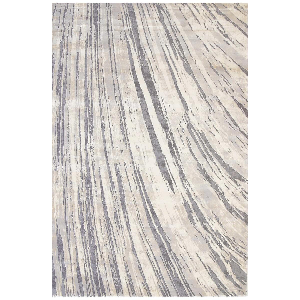Alyssum Swirl Textured Modern Rug, 240x330cm