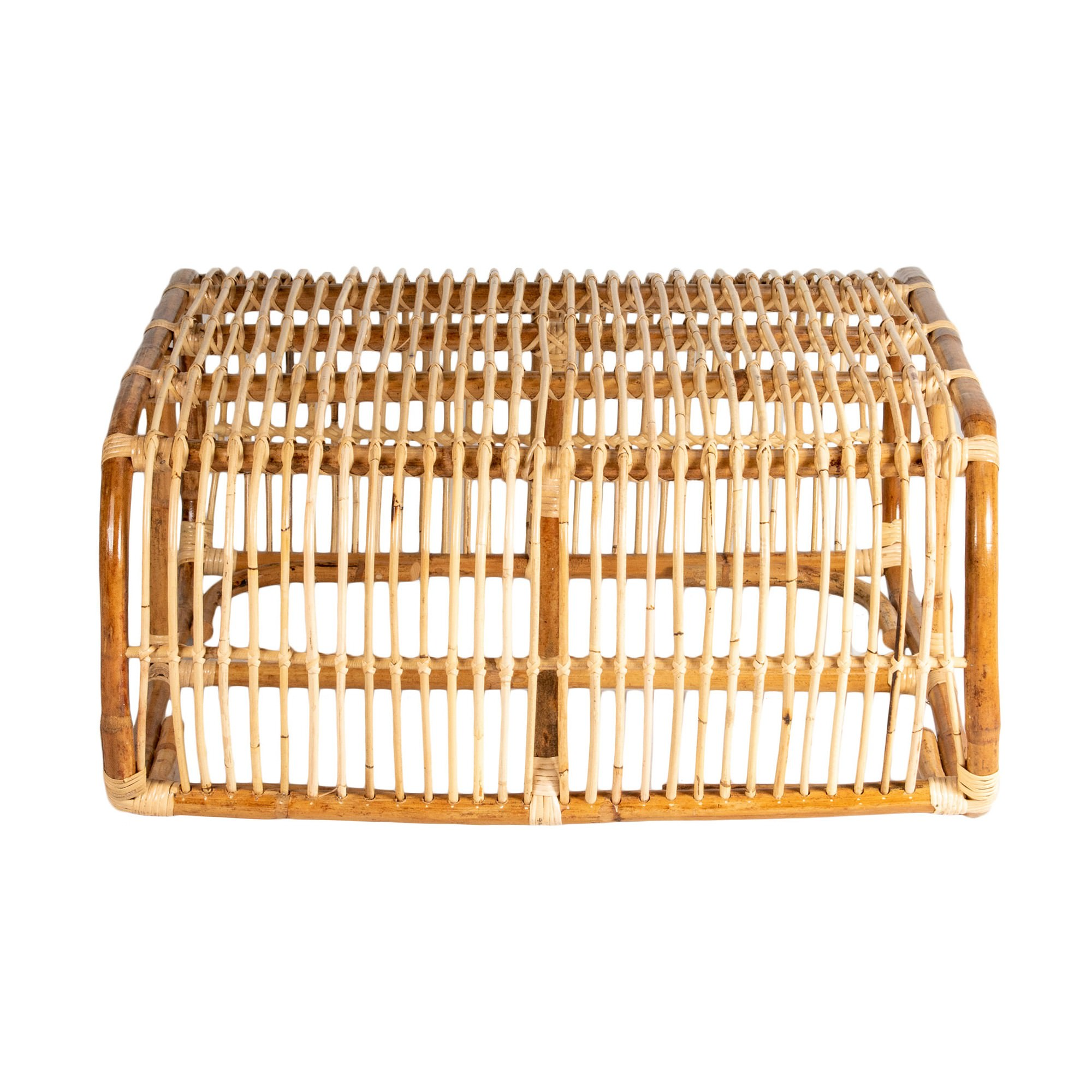 Norman Rattan Coffee Table, 90cm, Natural