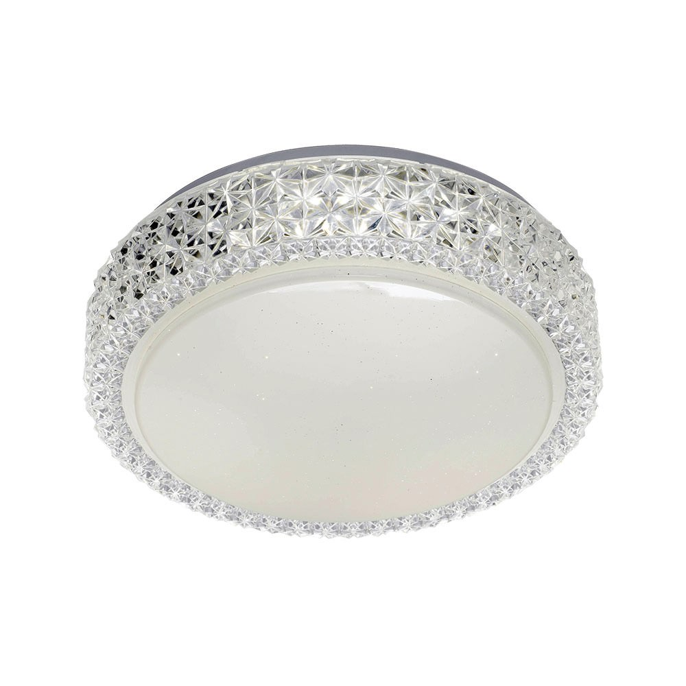 Amelia LED Oyster Ceiling Light, Small