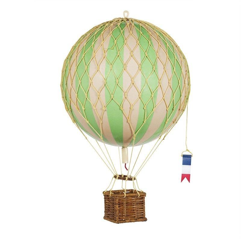 Travels Light Hot Air Balloon Model, Green