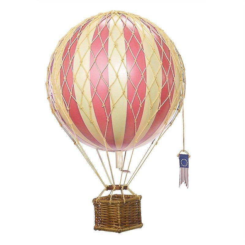 Travels Light Hot Air Balloon Model, Pink