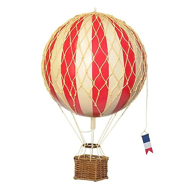 Travels Light Hot Air Balloon Model, Red
