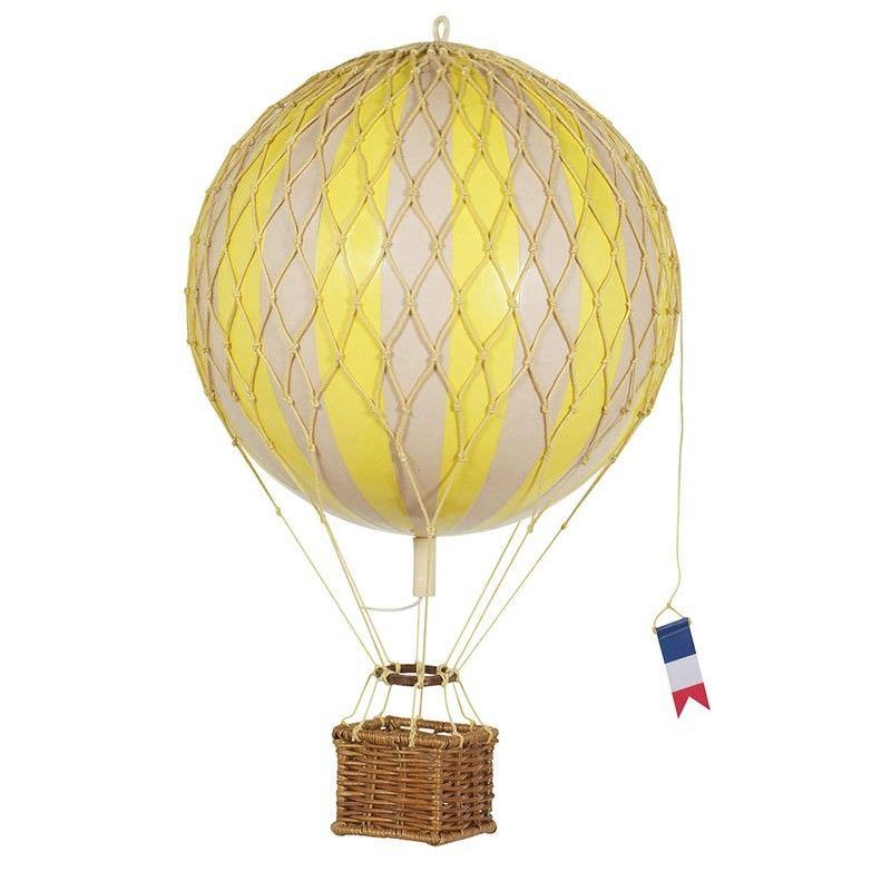 Travels Light Hot Air Balloon Model, Yellow