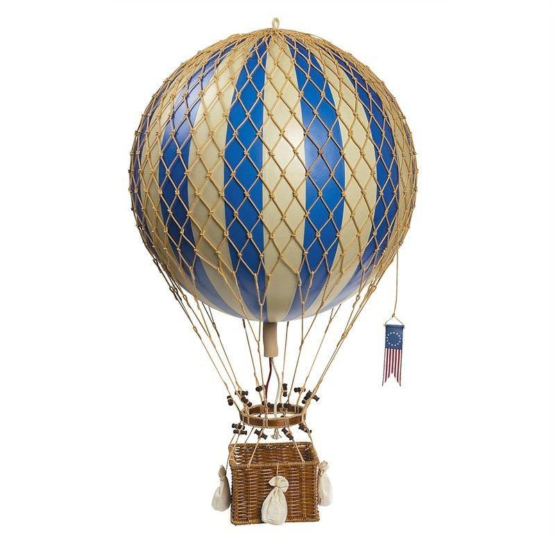 Royal Aero Hot Air Balloon Model, Blue