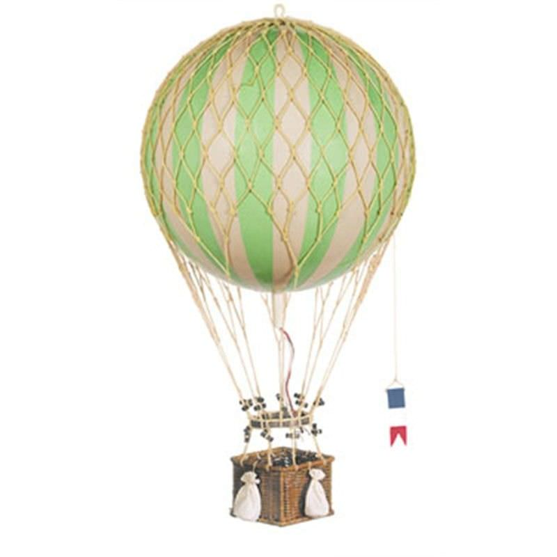 Royal Aero Hot Air Balloon Model, Green