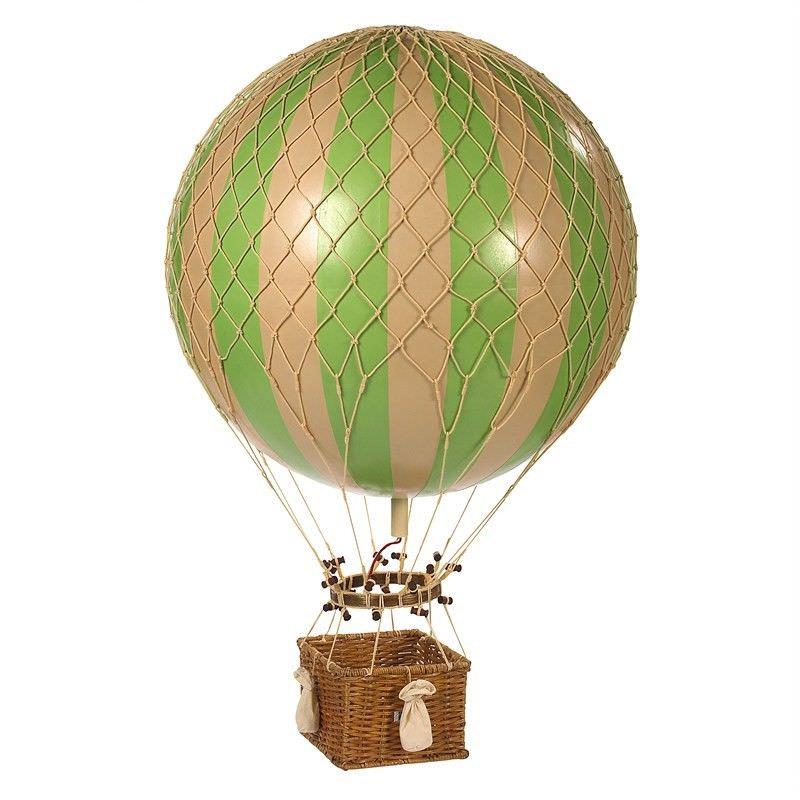 Jules Verne Hot Air Balloon Model - Green