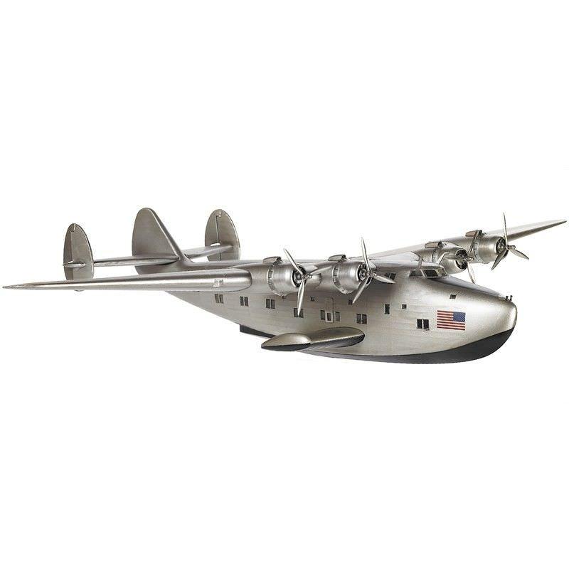 1930s Dixie Clipper Airplane Scale Model