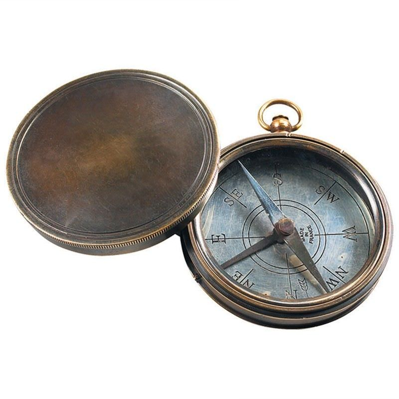 Victorian Trails Solid Brass Compass
