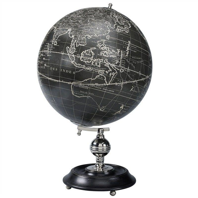 Vaugondy 1745 Noir Tabletop Globe