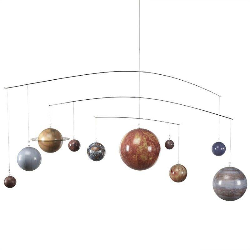 Solar System Globe Mobile Hanging Decor