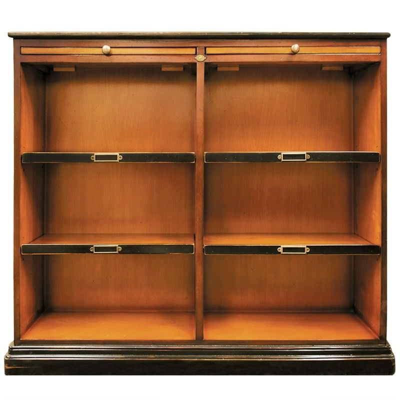 Alchemists Solid Timber Low Bookcase