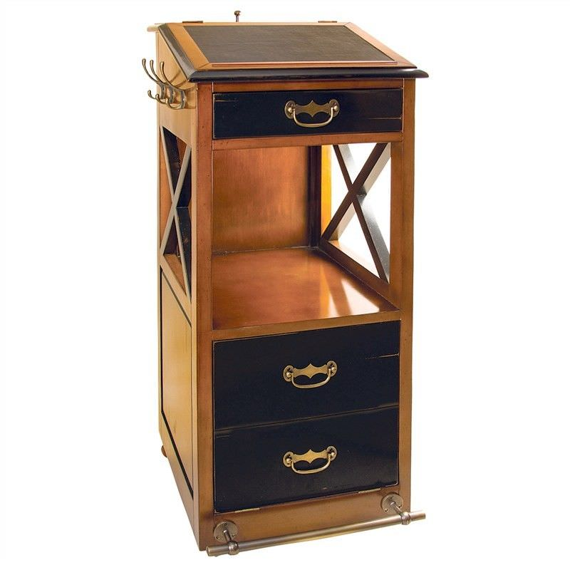 Valet De Chambre Solid Timber Storage Unit