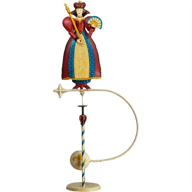 Authentic Models Hand Crafted Metal Skyhook Balance Toy, Queen