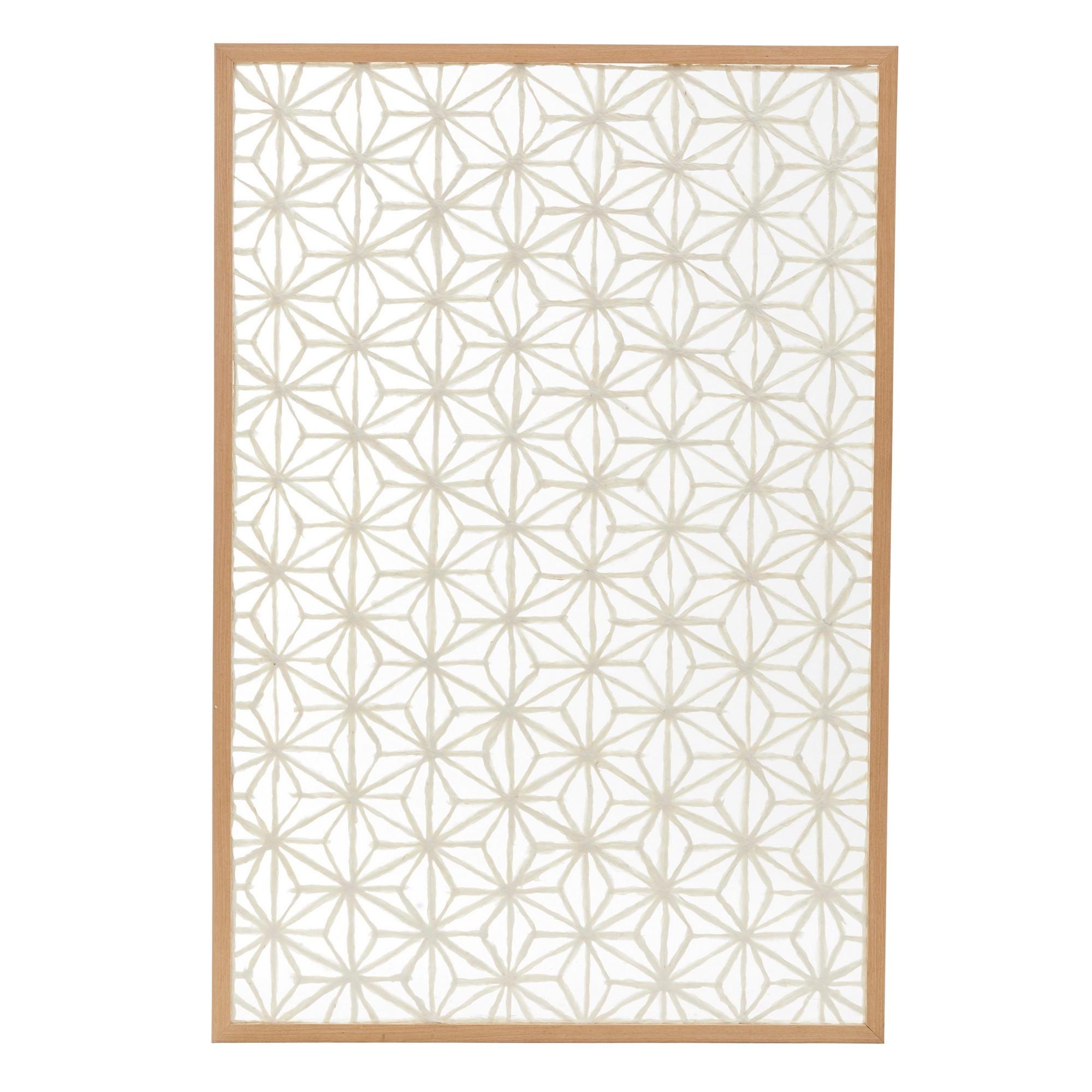 Ashland Framed Paper Art Wall Decor, 124cm
