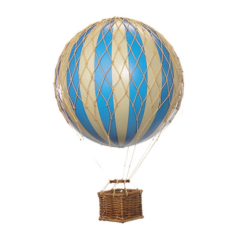 Floating The Skies Hot Air Balloon Model, Blue