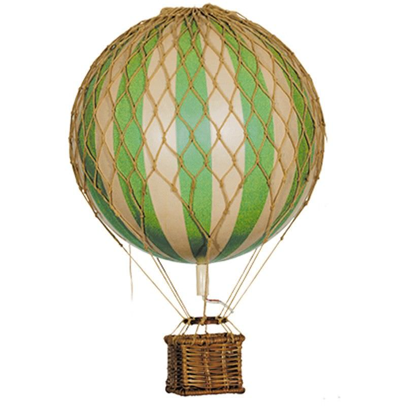 Floating The Skies Hot Air Balloon Model, Green