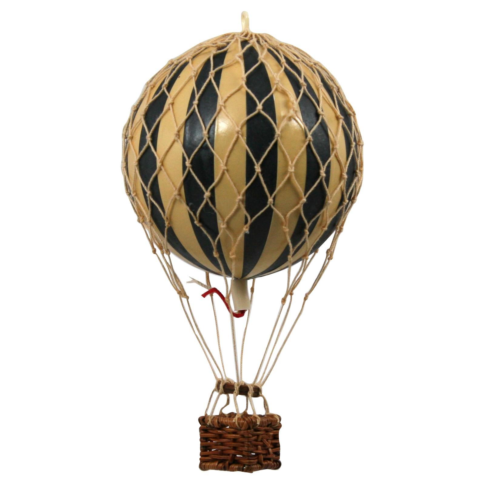 Floating The Skies Hot Air Balloon Model, Black