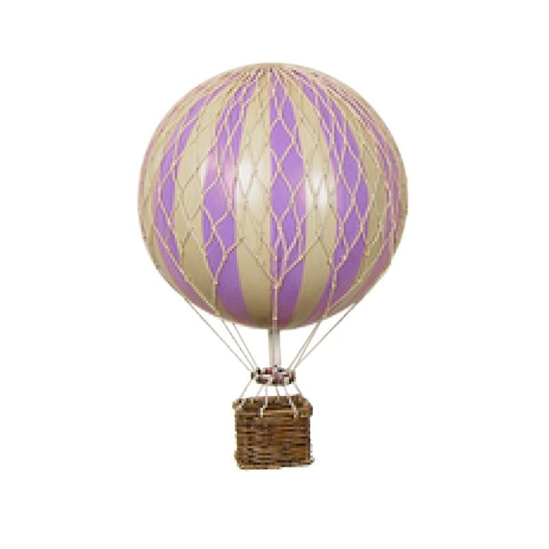 Floating The Skies Hot Air Balloon Model, Lavender
