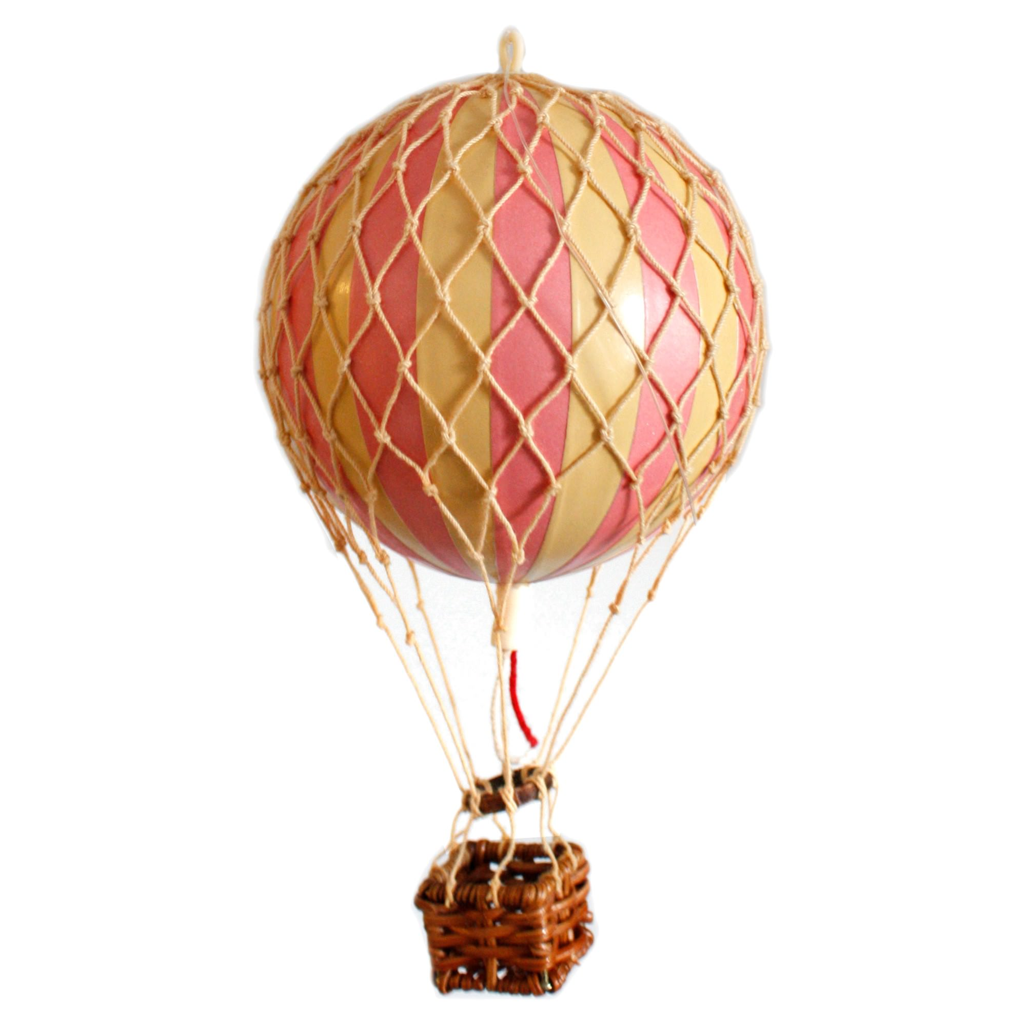 Floating The Skies Hot Air Balloon Model, Pink