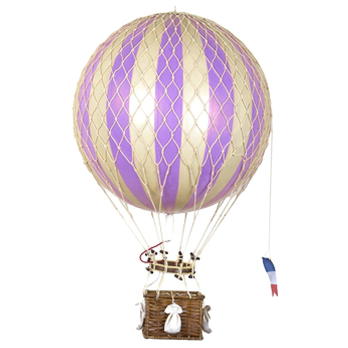 Royal Aero Hot Air Balloon Model, Lavender