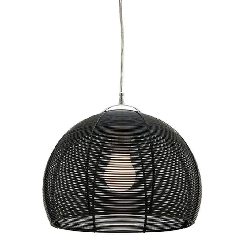 Arden Single Light Pendant Light - Black