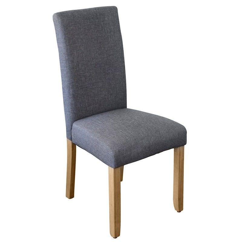 Arwen Fabric Dining Chair, Dark Grey