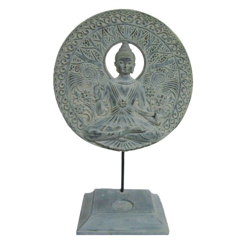 Buddha Resin Tealight Holder