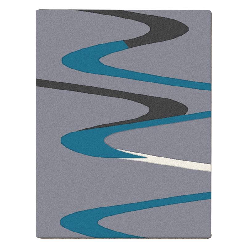 Aspire River Modern Rug, 200x290cm, Grey