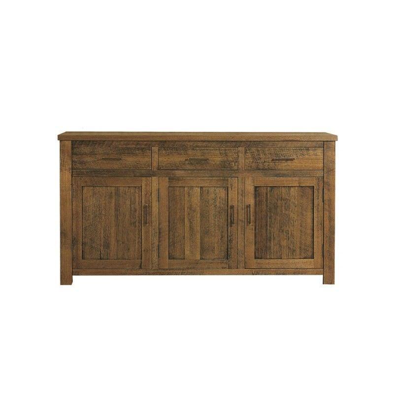Altamura Solid Tasmanian Oak Timber 3 Door 3 Drawer 168cm Buffet Table