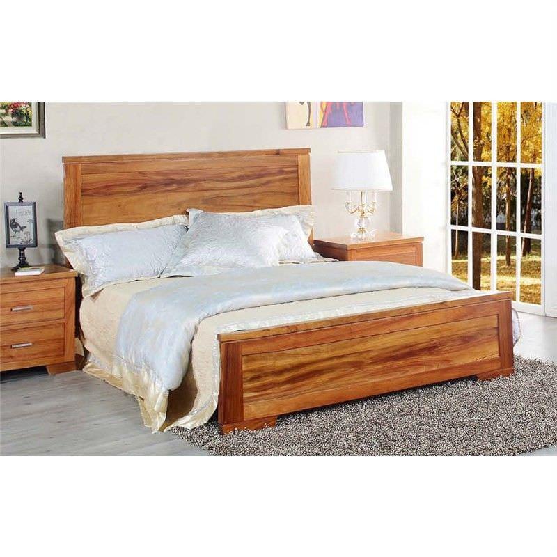 Harlington Blackwood Timber Bed, Queen