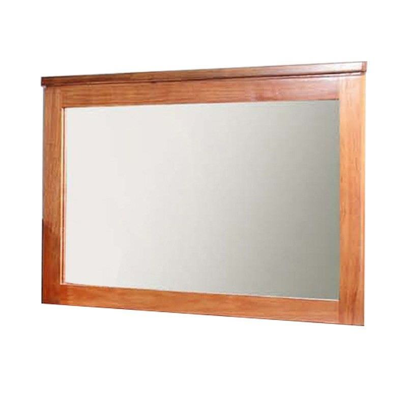 Harlington Blackwood Timber Frame Dressing Mirror, 110cm