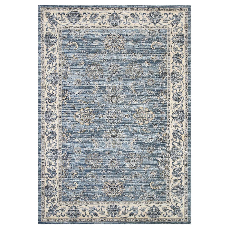 Atlas Saniya Oriental Rug, 240x330cm, Blue