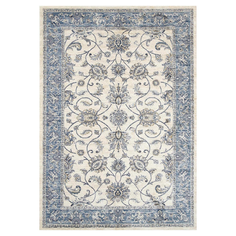 Atlas Saniya Oriental Rug, 80x170cm, Cream
