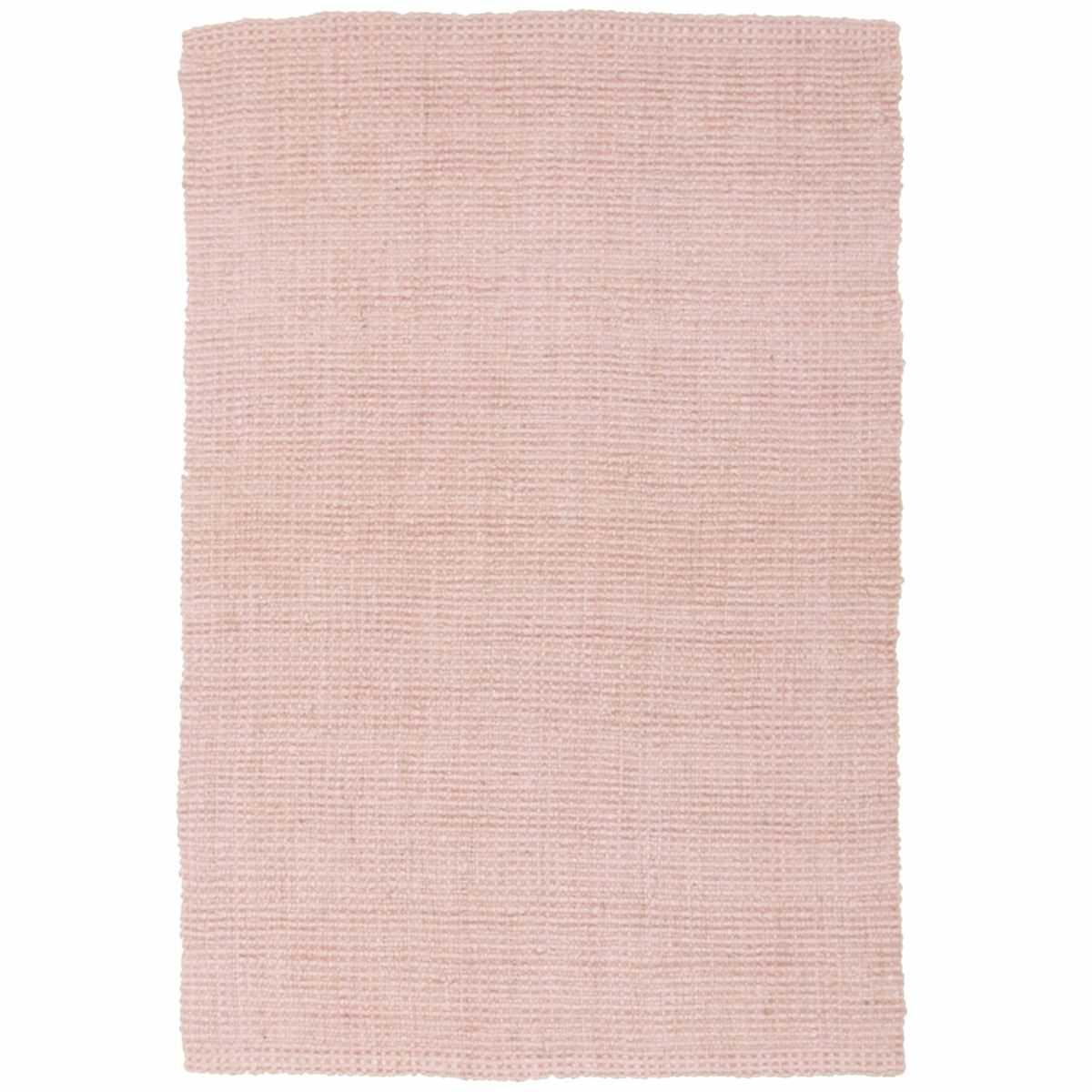 Atrium Barker Jute Rug, 220x150cm, Pink