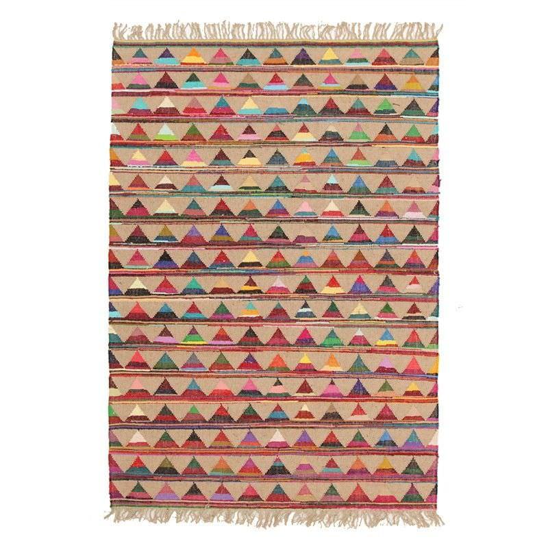 Marlo Hand Woven Jute and Cotton Indoor/Outdoor Rug - 220x150cm