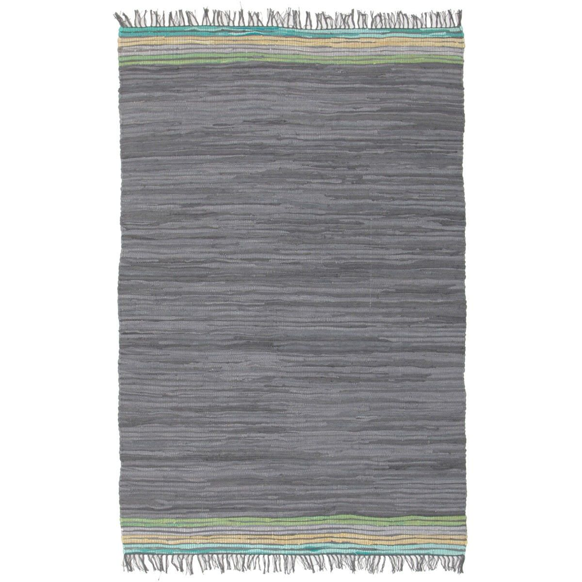 Atrium Hunter Cotton Rug, 270x180cm, Slate