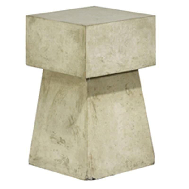 Mushroom Cement Outdoor Table Stool