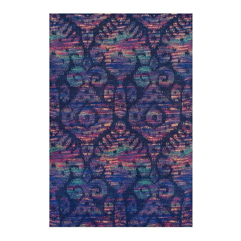 Abrasion Ikat Rug, 240x340cm, Multicolour