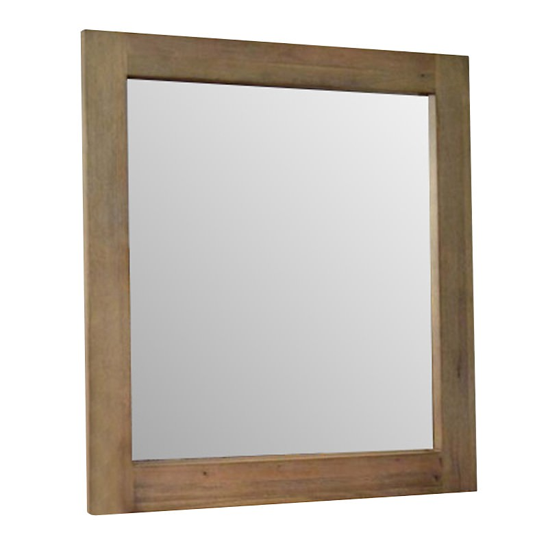 Barnard Mountain Ash Timber Framed Dressing Mirror, 100cm