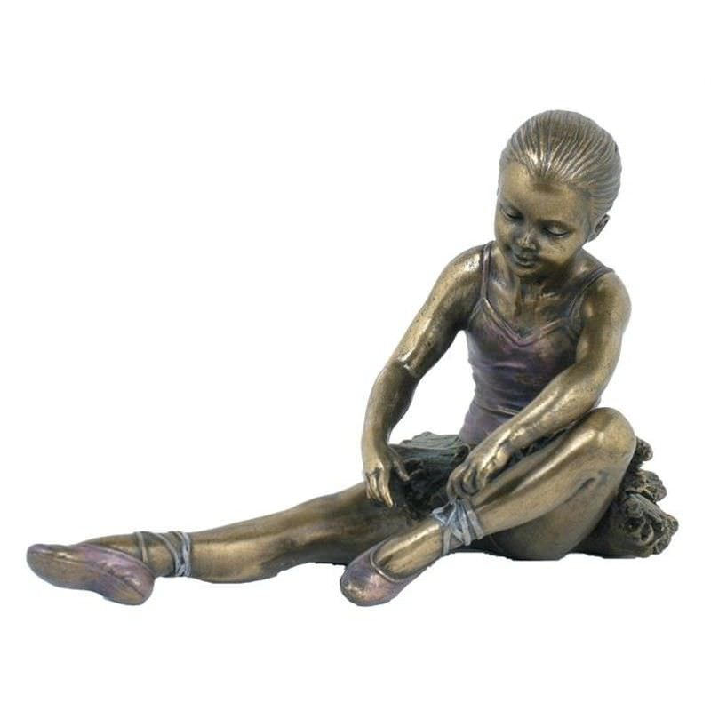 Ballerina Figurine, Taking Off Shoes