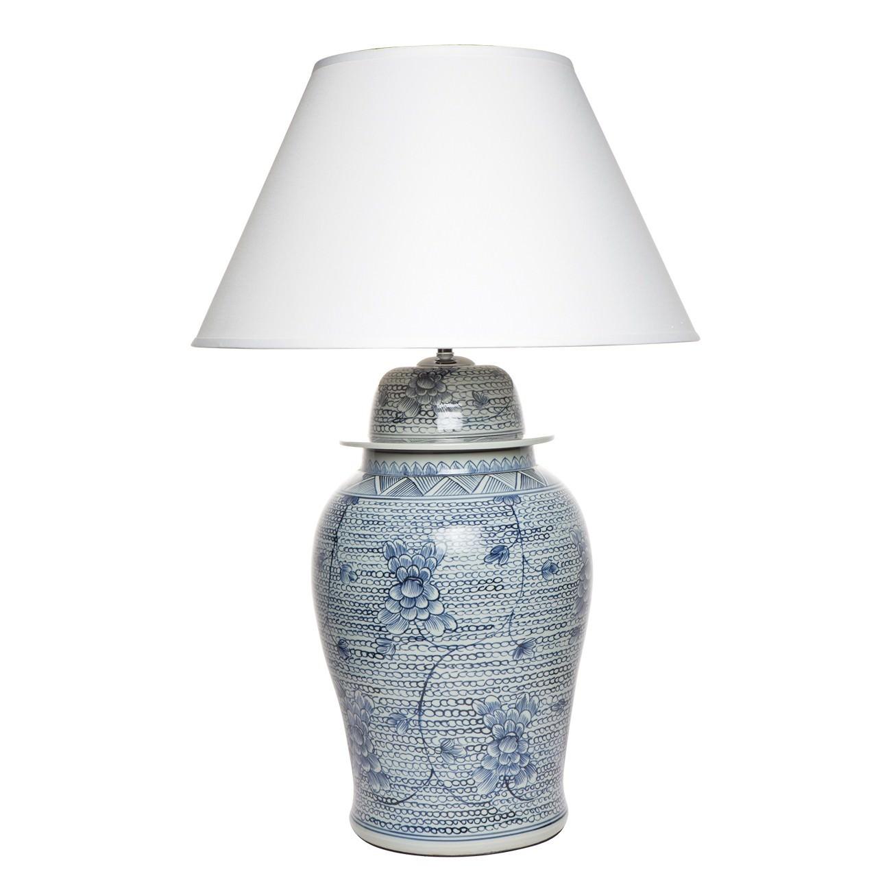 Shellcove Porcelain Base Table Lamp