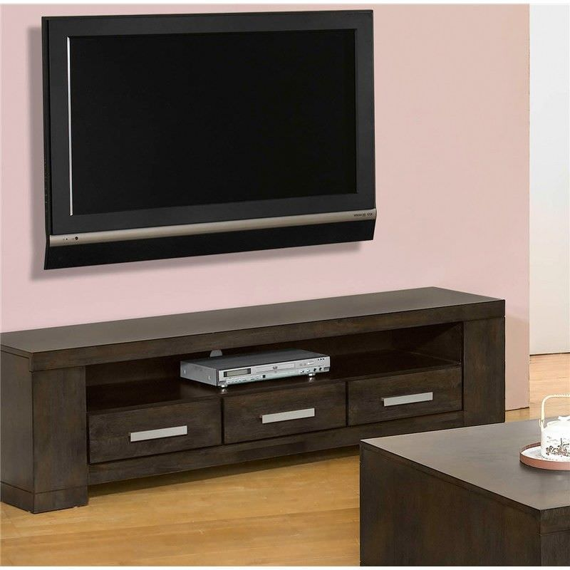 Baltimore 180cm Entertainment Unit in Charcoal
