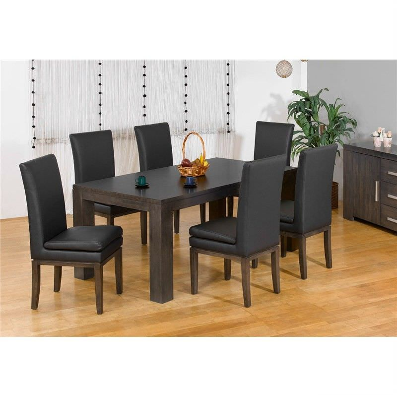 Baltimore 210cm Dining Table in Charcoal (Table Only)