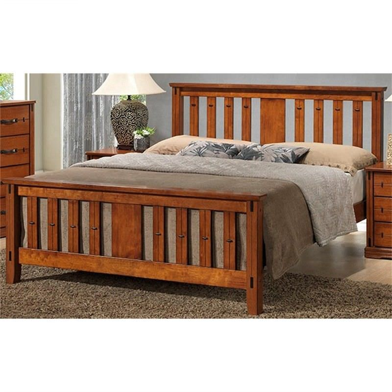 Dario Solid Hardwood Timber Double Bed