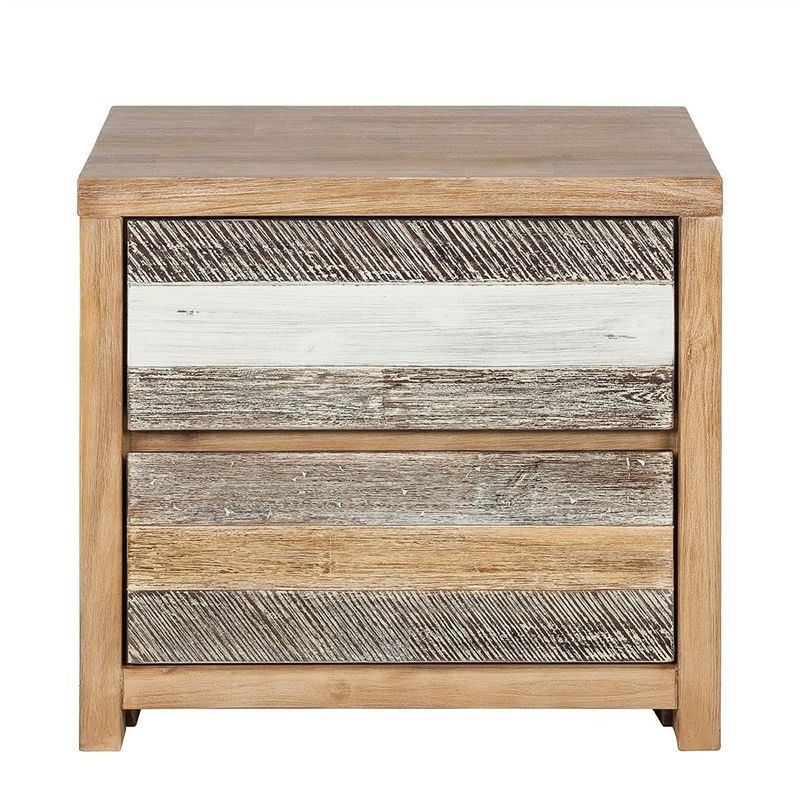 Courtney Solid Acacia Timber Bedside Table