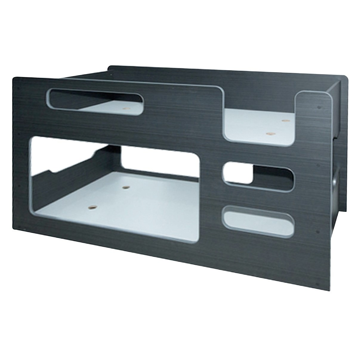Domino Bunk Bed, Single, Charcoal
